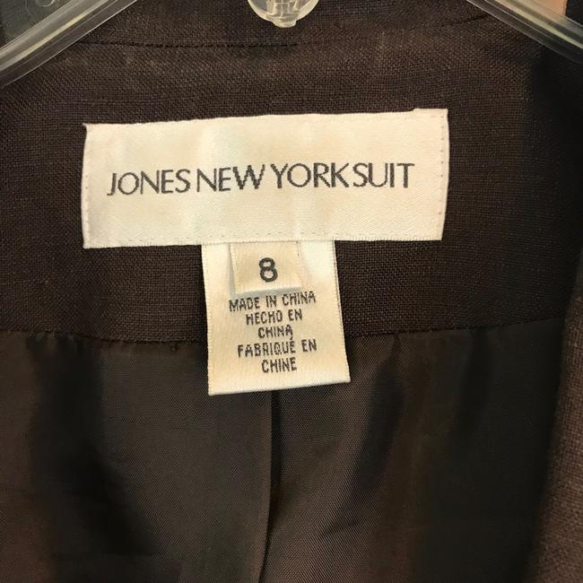 Jones New York Office Casual Chocolate Brown Blazer