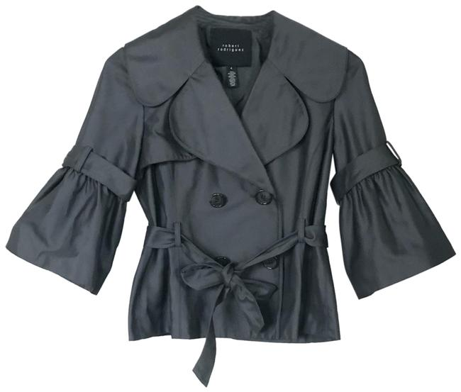 Preload https://img-static.tradesy.com/item/24602818/robert-rodriguez-gray-double-breasted-belted-jacket-blazer-size-4-s-0-1-650-650.jpg