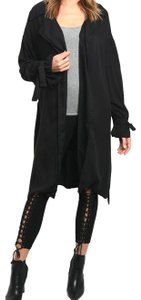 Star-Studded Inc Trench Coat