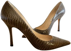 cd01e082646 Women s Green Jimmy Choo Shoes - Up to 90% off at Tradesy