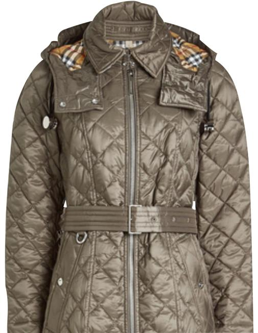 Item - Grey Baughton Quilted Coat Jacket Size 4 (S)