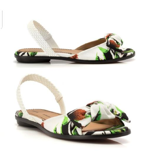 Proenza Schouler white, green Sandals Image 1