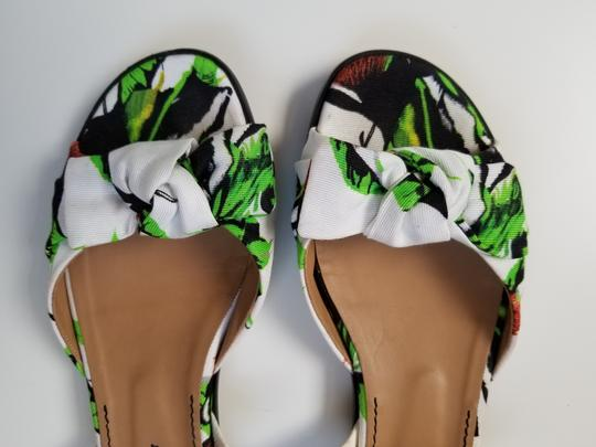 Proenza Schouler white, green Sandals Image 3