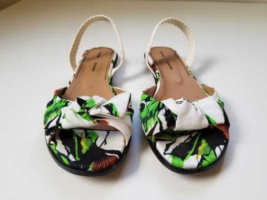 Proenza Schouler white, green Sandals Image 4