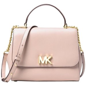 Michael Kors Satchel in soft pink