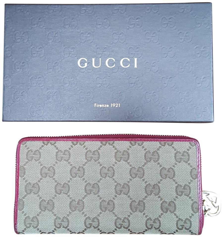 e7bc81d3be5d Gucci Beige/Pink Zippy Long Wallet - Tradesy