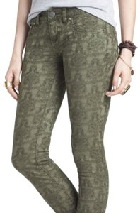 Free People Tectured Stretchy Skinny Jeans