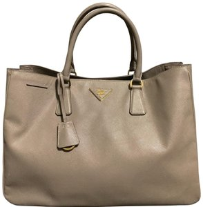 5a27903e821d Prada Tote in Beige · Prada. Lux The Pomice Saffiano Beige Leather Tote