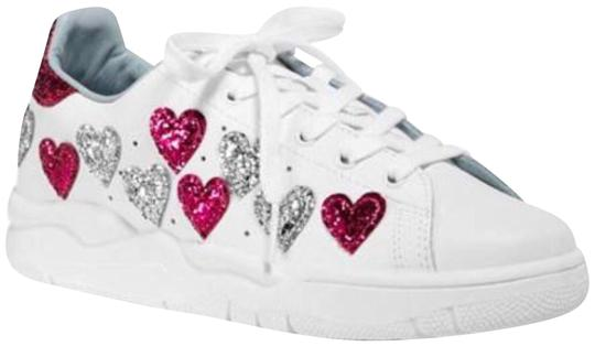 Preload https://img-static.tradesy.com/item/24605005/chiara-ferragni-white-women-s-leather-and-glitter-hearts-low-top-lace-up-sneakers-sneakers-size-eu-3-0-1-540-540.jpg