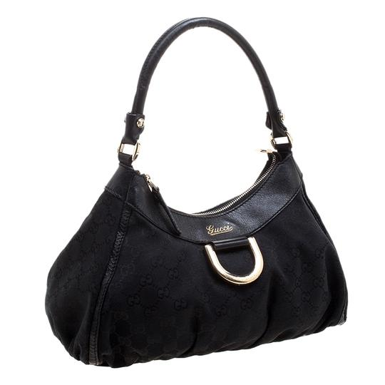 Preload https://img-static.tradesy.com/item/24605182/gucci-small-d-ring-shoulder-black-canvas-and-fabric-hobo-bag-0-0-540-540.jpg