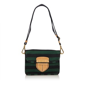 Prada Pattina Canapa Righe Bag