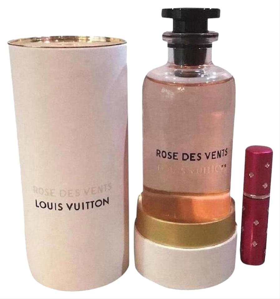 Louis Vuitton Pink Rose Des Vents Perfume 5ml Purse Travel