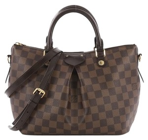 Louis Vuitton Siena Damier Satchel in Brown