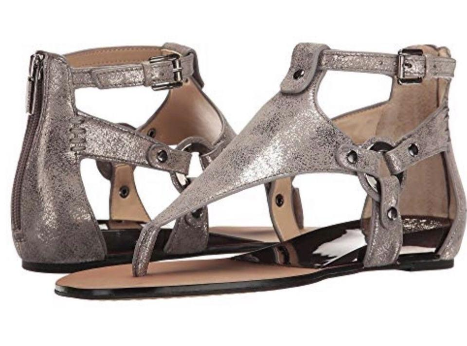 0534b95a719 Vince Camuto Metal Gray Averie Thong 8.5m Sandals Size US 8.5 ...