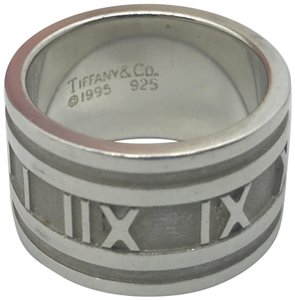 Tiffany & Co. Tiffany & Co Wide Atlas Ring, Size 6