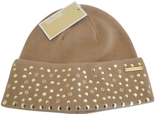 Item - Camel Gold Studded Beanie Winter Size Hat