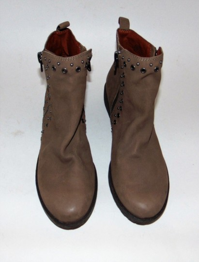 Lucky Brand Blogger Brown Grommet Boots Image 1