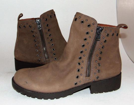 Lucky Brand Blogger Brown Grommet Boots Image 4