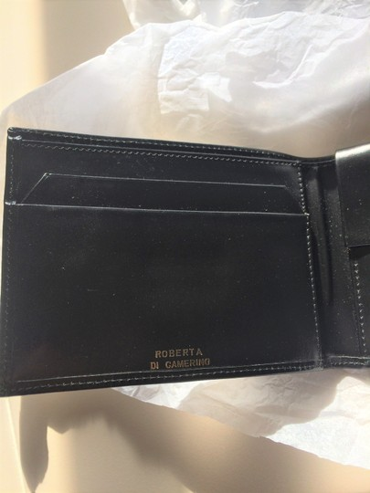 Roberta di Camerino Leather BiFold Wallet Gold-Trim new-without-tags Image 2