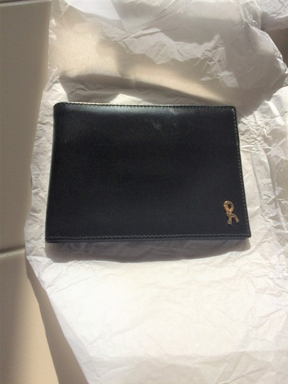 Roberta di Camerino Leather BiFold Wallet Gold-Trim new-without-tags Image 5