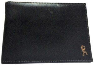 Roberta di Camerino Leather BiFold Wallet Gold-Trim new-without-tags