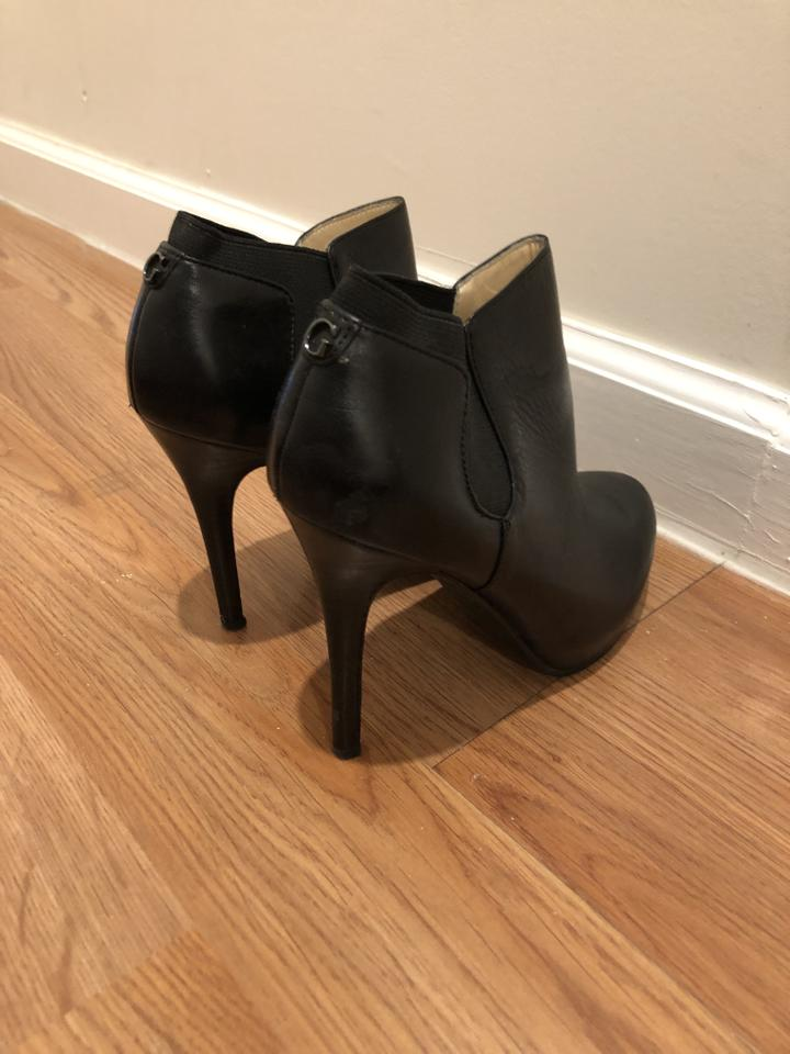 013225cd5d8 Guess Black Stiletto Ankle Boots/Booties Size US 6 Regular (M, B) 49% off  retail