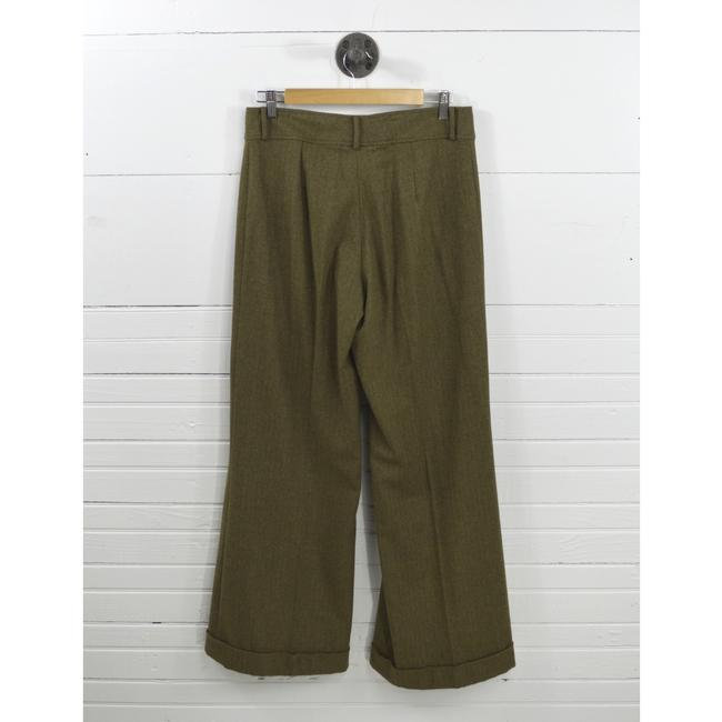 Ralph Lauren Fall Winter Holiday Night Out Date Night Trouser Pants GREEN Image 2