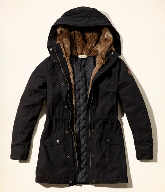 Hollister Fur Coat Image 1