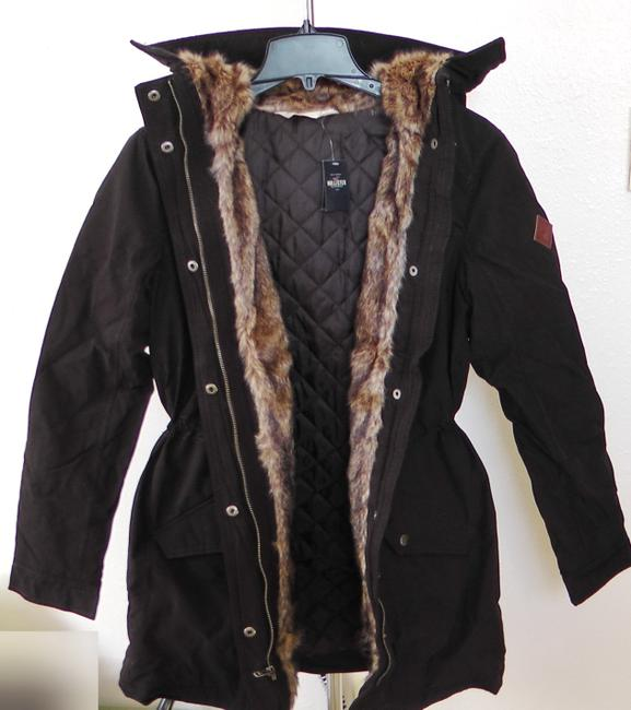 Hollister Fur Coat Image 2
