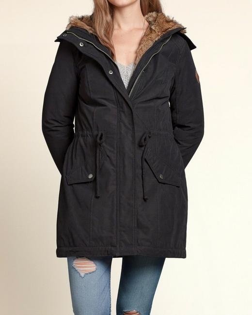 Hollister Fur Coat Image 3