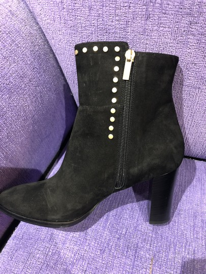 Jimmy Choo Suede Studded Black Boots Image 1