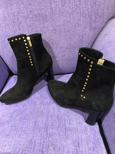 Jimmy Choo Suede Studded Black Boots Image 2