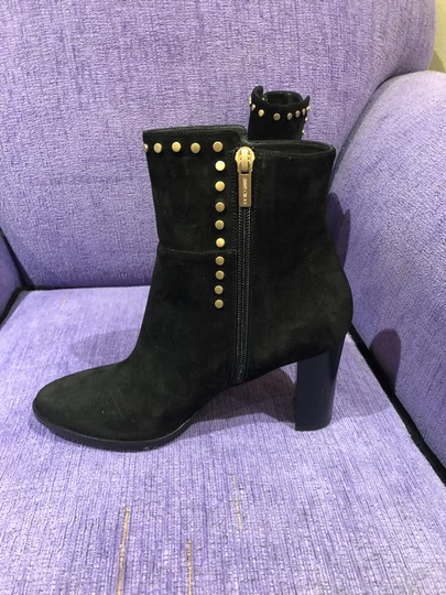 Jimmy Choo Suede Studded Black Boots Image 3