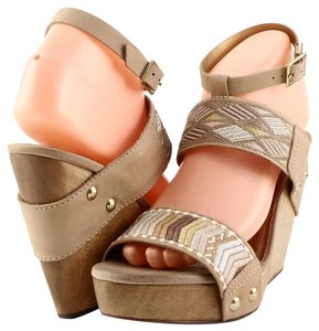 Twelfth St. by Cynthia Vincent Nude Wedges
