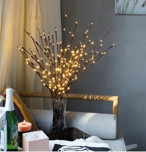 Warm White Led Lighted Tree Branches Centerpiece