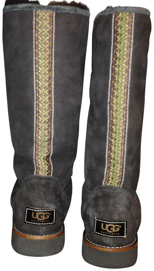 Preload https://img-static.tradesy.com/item/24607022/ugg-australia-brown-uggs-elissa-suede-calf-shearling-bootsbooties-size-us-6-regular-m-b-0-2-540-540.jpg
