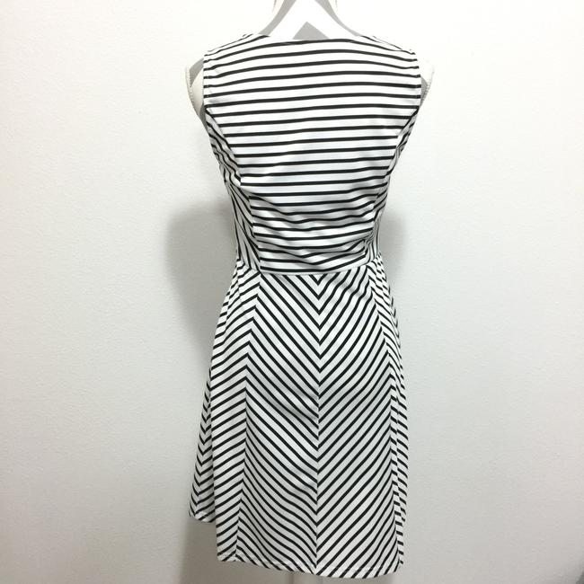 Pixley short dress Black & White Stripes Sleeveless Fit And Flare on Tradesy Image 2