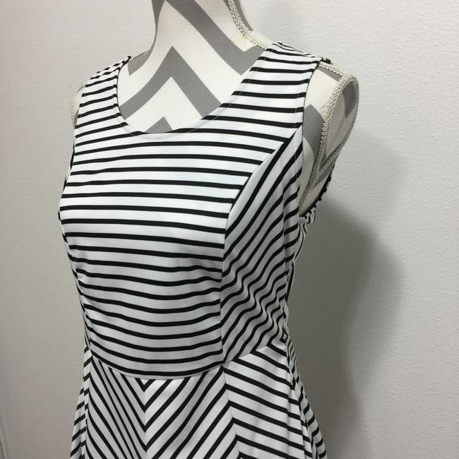 Pixley short dress Black & White Stripes Sleeveless Fit And Flare on Tradesy Image 3