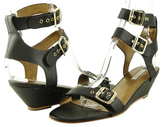 Preload https://img-static.tradesy.com/item/24607163/twelfth-st-by-cynthia-vincent-black-lucca-leather-wedge-sandals-size-us-85-regular-m-b-0-1-540-540.jpg