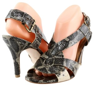 Twelfth St. by Cynthia Vincent Grey Multi Snake Sandals