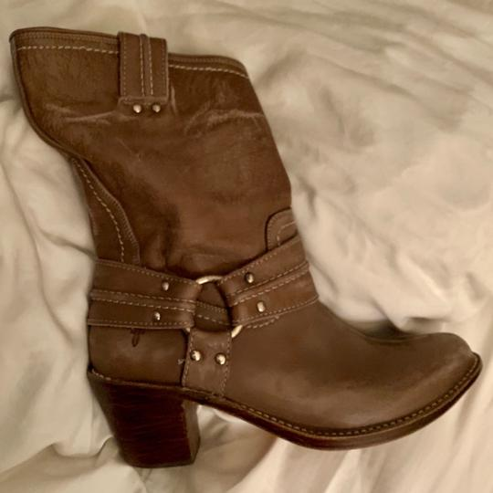 Frye Gray Boots Image 3