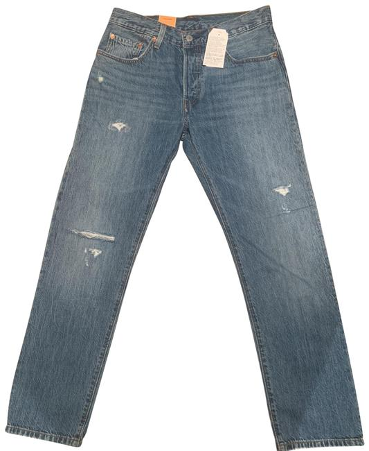 Item - Distressed 501 Relaxed Fit Jeans Size 2 (XS, 26)