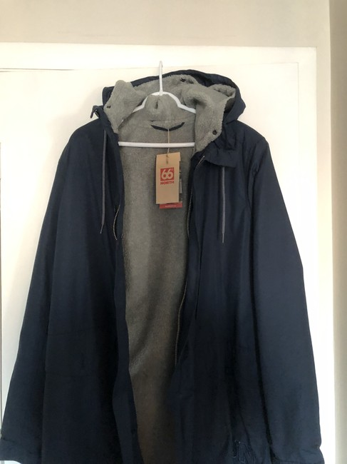 66 Degrees North Trench Coat Image 2
