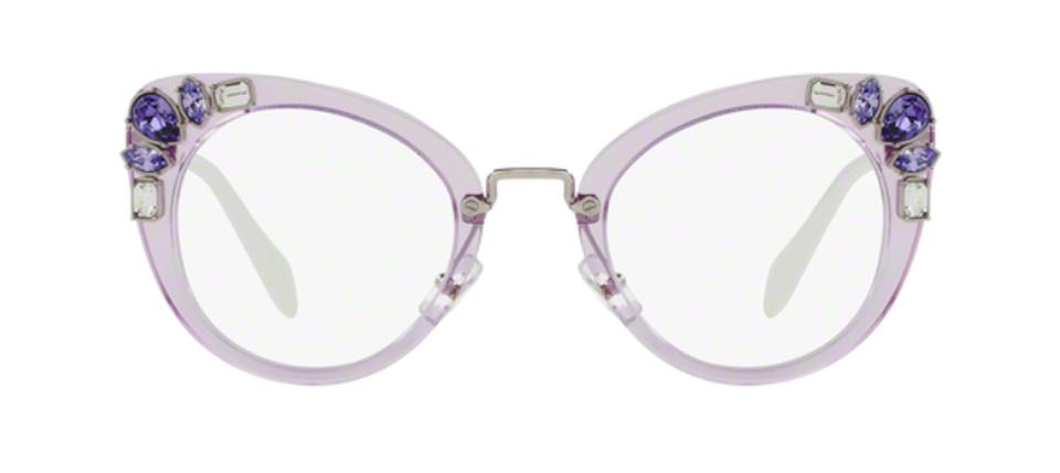 a0eb9f64fac Miu Miu New Cat Eye Eye Glasses Optical VMU 05P U69101 Free 3 Day Shipping  Image ...