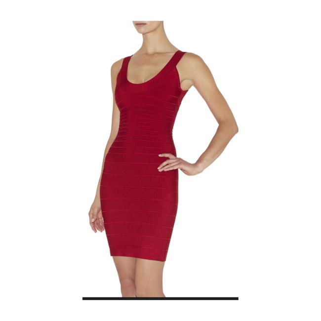 Item - Lipstick Red Sydney Mid-length Night Out Dress Size 8 (M)
