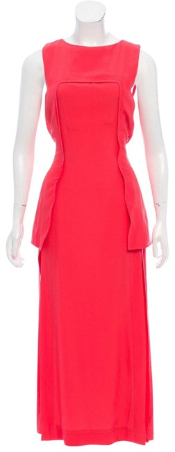 Preload https://img-static.tradesy.com/item/24607649/fendi-coral-sleeveless-silk-w-tags-long-casual-maxi-dress-size-4-s-0-1-650-650.jpg