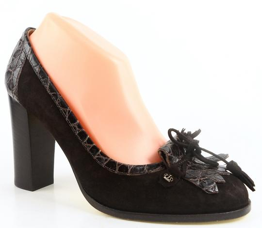 Juicy Couture Chocolate Brown Pumps Image 1