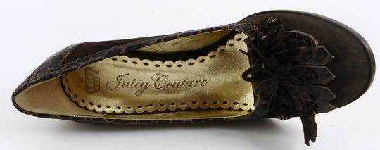 Juicy Couture Chocolate Brown Pumps Image 2