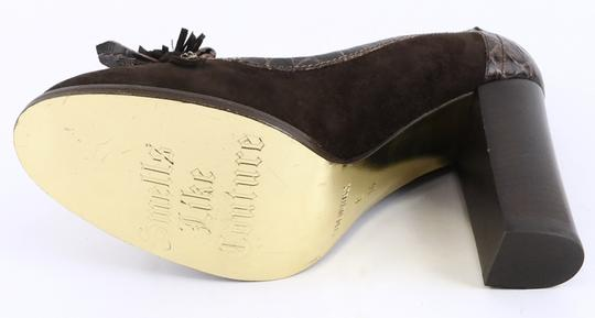 Juicy Couture Chocolate Brown Pumps Image 3