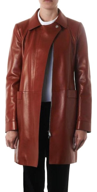 Preload https://img-static.tradesy.com/item/24607713/gucci-red-leather-structured-coat-size-6-s-0-1-650-650.jpg